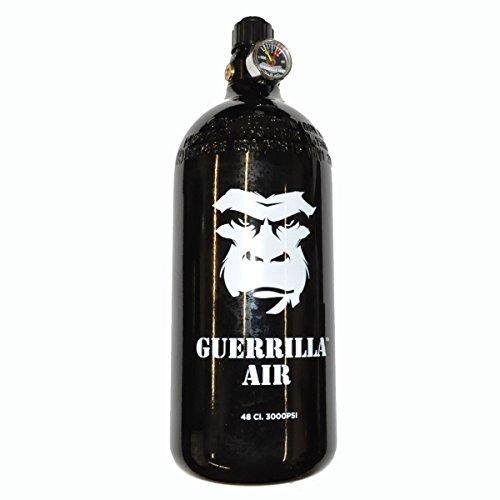 Guerrilla Air 3000 psi Aluminum Paintball HPA Tank w/Myth Regulator (click-a-size/color)