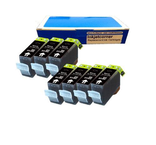 Inkjetcorner 7 New Compatible BLACK Ink Cartridge for Canon PGI-225BK Pixma iP4820 iP4920 iX6520 MG5120 MG5220 Wireless MG5320 MG6120 MG6220 MG8120 MG8220 MX882 MX892 Printer