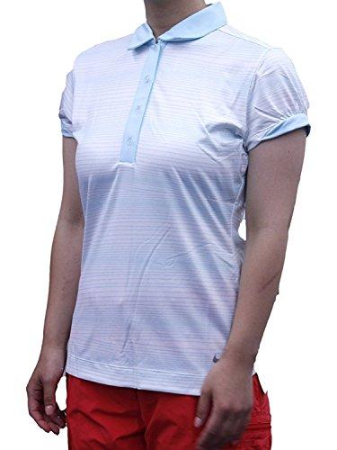 (ナイキ ゴルフ) NIKE GOLF レディース トップス DRI-FIT マルチストライプ 半袖 ポロシャツ 587441