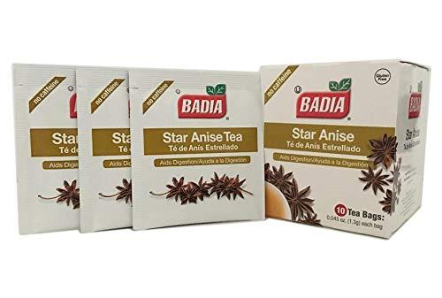 30 Bags Star Anise Tea Digestive Heartburn aid/Anis Estrellado Te Digestivo