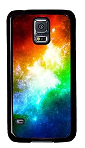 Samsung Galaxy S5 Cases & Covers - Color Starry Background PC Custom Soft Case Cover Protector for Samsung Galaxy S5 - Black