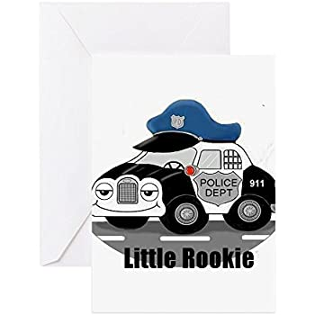 Amazon Cafepress Little Rookie Greeting Card Note Card