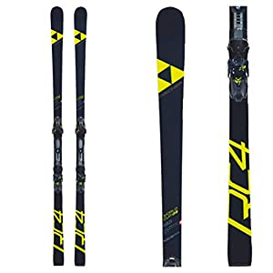 Fischer 2019 RC4 World Cup GS Womens 188cm International Skis with Curv Booster Plate