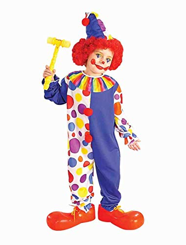 Forum Novelties Clown Child's Value Costume -