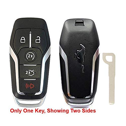 - Remote Store Ford Mustang 5 Button Smart Proximity Key Fob OEM FCC: M3N-A2C31243300