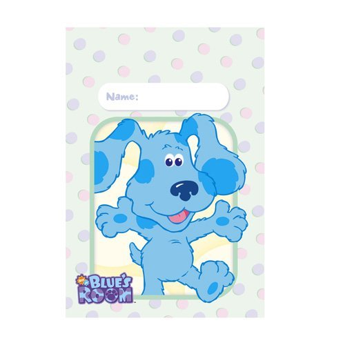 Blue's Clues Room Treat Bags - 8 Count (Treat Bags Blues Clues)