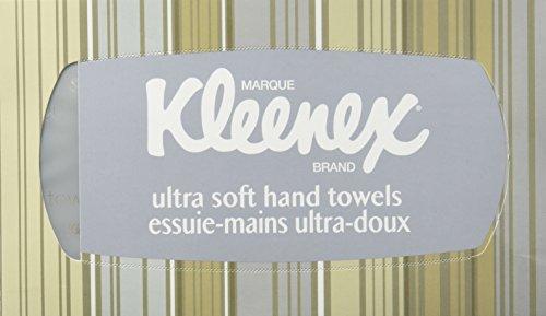 Kimberly Clark 11268 Kleenex Hand Towels Premium Ultra Soft, Pop-Up Box, White (Kimberly Clark Hand Towel)