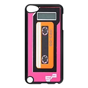 Diy Retro Old Player Tape Shell Case Cover, DIY Unique Back Case Cover for iPod Touch 5 Retro Old Player Tape