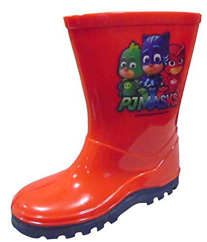 PJ Masks Boys Wellington Rain Boots Wellys
