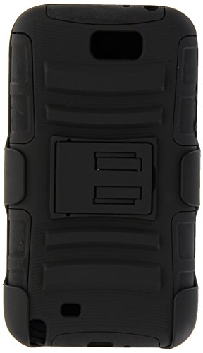 Generic Rugged Impact Armor Hybrid Hard Case Cover & Belt Clip Holster Kickstand for Samsung Galaxy Note 2 N7100 Black Black Rugged Holster