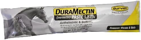 (3 Pack) of Duramectin Ivermectin Paste 1.87 Percent for Horses, 0.21 Ounces Each