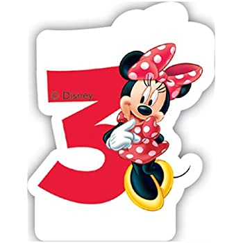 Amazon.com: Unique Party 71792 - Café Disney Minnie Mouse ...