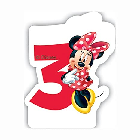 Partido Ênico Cafe Disney Minnie Mouse tercera vela de ...