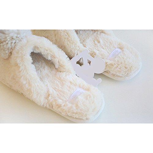 Eastlion Home Anti-skid Home Indoor Warm Slippers Champagne UDaj6BKEb