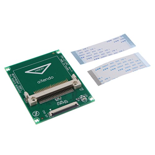 Homyl Compact Flash CF Card to 1.8'' ZIF CE Hard Drive Adapter Card for Notebook 1.8' Zif Hard Disk