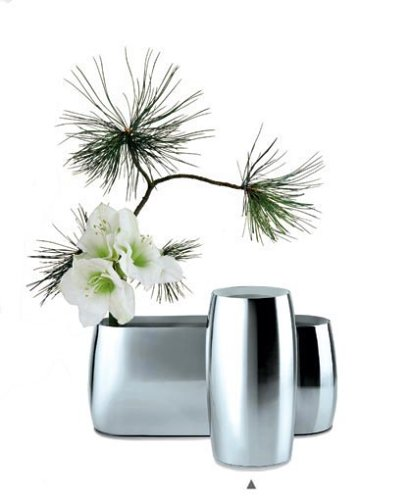 Georg Jensen Vase Sakura High Amazon Kitchen Home