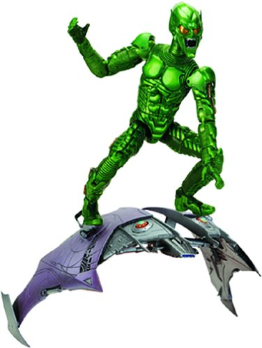 Green Goblin Super Poseable Figure Spiderman Movie (Goblin Outfit)