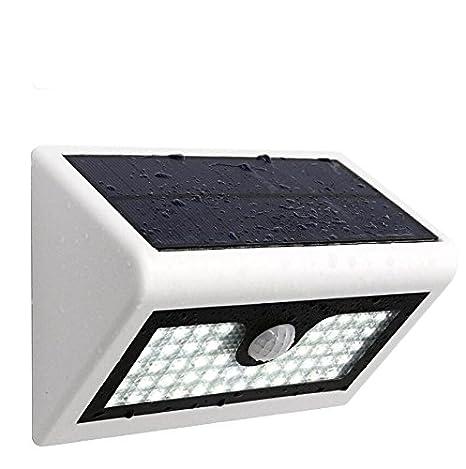 dingsheng 3 en 1 50 Solar luz Solar Sensor de movimiento luz de seguridad resistente al