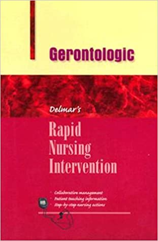 Elektronikk e bok nedlasting Rapid Nursing Intervention: Gerontologic Nursing (Rapid Nursing Interventions) (Norsk litteratur) PDF DJVU FB2