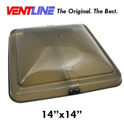 Roof Vents Smoke - Ventline Replacement RV Trailer Vent Roof Cover (Smoke)