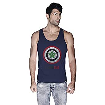 Creo Tank Top For Men - L, Navy