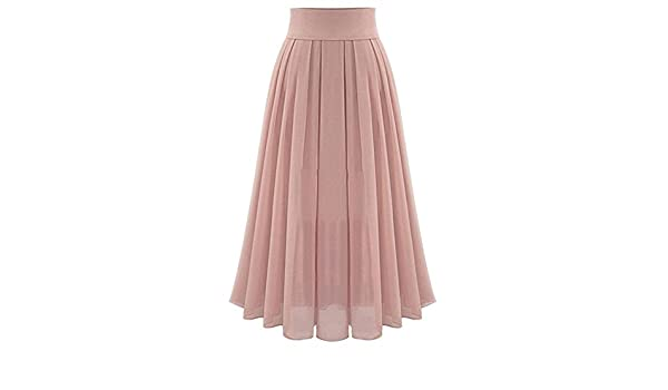Qijinlook 💖Falda Tul Mujer/Faldas largas Mujer Fiesta Elegante ...