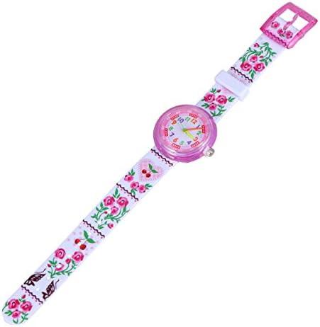 ساعات الأطفال Hemobllo ساعة أطفال كرتون لطيفة ساعة كوارتز جميلة للأطفال مدرس وقت الترفيه ساعة المعصم مؤشر للبنات والأولاد الصغار 21 3 5cm Amazon Ae