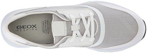 8 Sneaker Geox White Men's Snapish pq6OExS4w