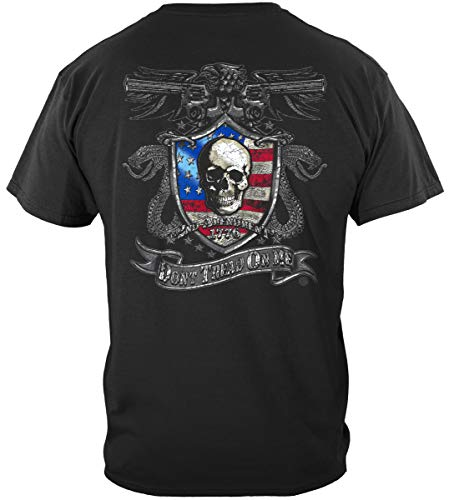 2nd Amendment Smith and Wesson Sticker | 2nd Amendment Don't Tread On Me Silv Shirt ADD192-RN2243-5XL (Smith And Wesson Special Ops Knife Review)