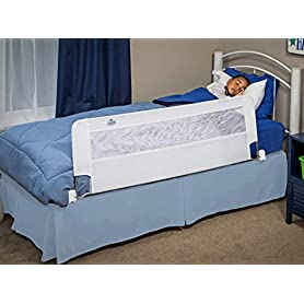 Regalo Swing Down 54-Inch Extra Long Bed Rail Guard, with Reinforced Anchor Safety System 3