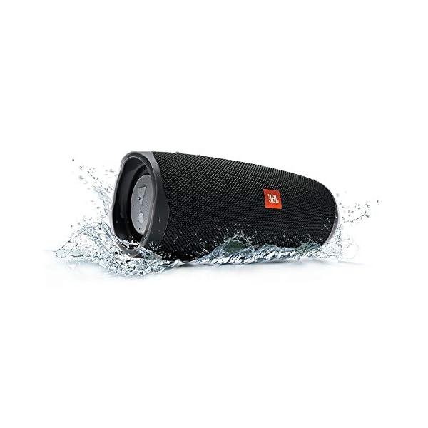 JBL Charge 4 - enceinte Bluetooth Portable avec Usb - Robuste et Étanche : pour Piscine et Plage - Son Puissant - Autonomie 20 Hrs - Noir 1