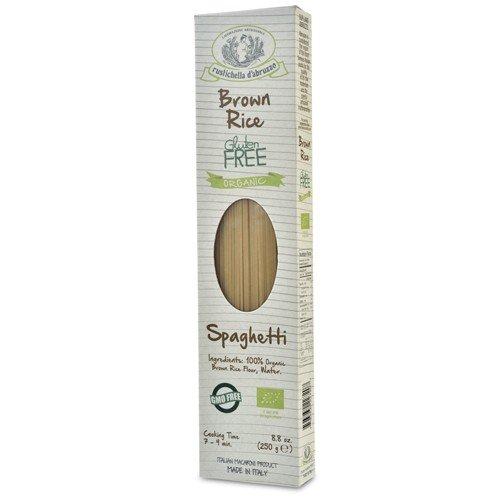 Rustichella d'Abruzzo Organic Gluten Free Brown Rice Spaghetti - 8.8 oz (Pack of 2)