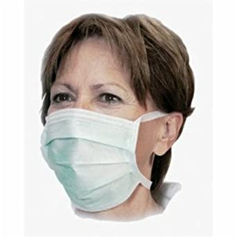Face Bodyguard Aid Type amp; Fm4125b Ideal Surgical Cleaning First Ply Ii Nurses Vets Doctors On Masks Fumes Asthma Flu For 3 Tie 50 Dentists
