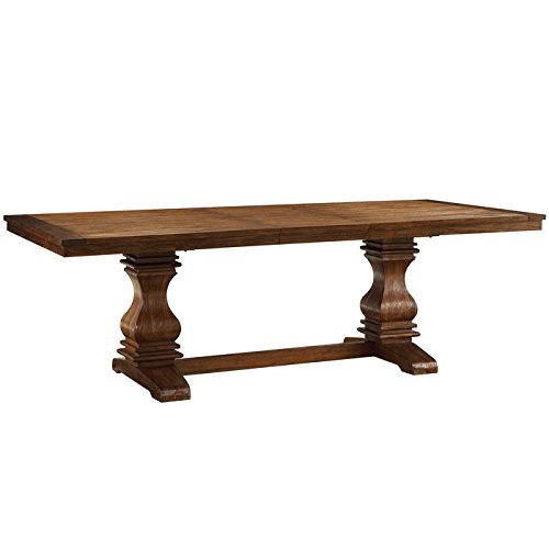 Wood Extending Dining Table - 7