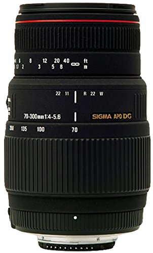 Sigma 70-300mm f/4-5.6 DG APO Macro Motorized Telephoto Zoom Lens for Nikon SLR...