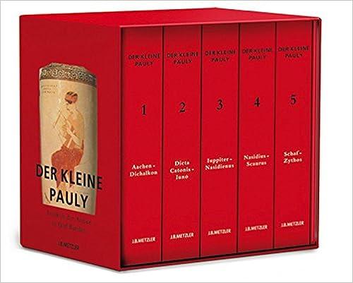 Der Kleine Pauly. Lexikon der Antike cover
