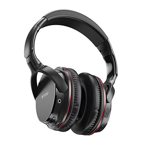 TROND Wireless Bluetooth V4.2 Over-Ear Headphones / Headset With Mic, APTX LOW LATENCY For TV