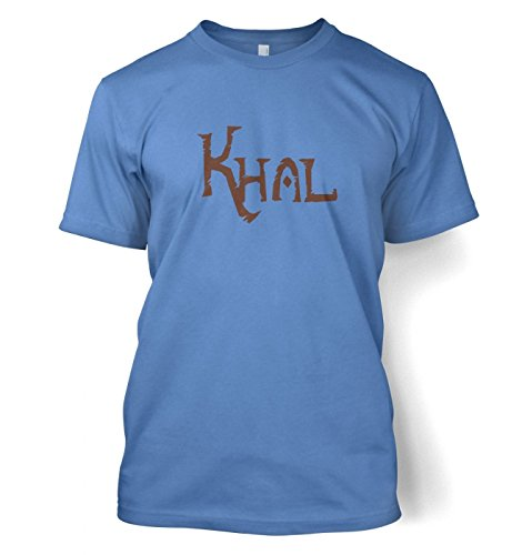 Khal T-Shirt - Game of Thrones (XX-Large (50/52)/Carolina Blau )
