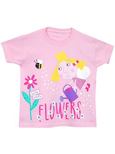 Ben & Holly Girls' Ben and Holly's Little Kingdom T-Shirt Size 4