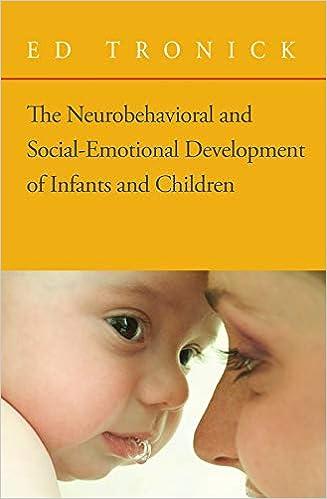 Neurobehavioral Social Emotional Development Infants Children
