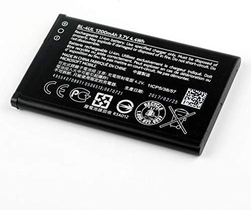 FidgetFidget Original Replacement Battery BL-4UL for Nokia Asha 225 230 Batteries 1200mAh