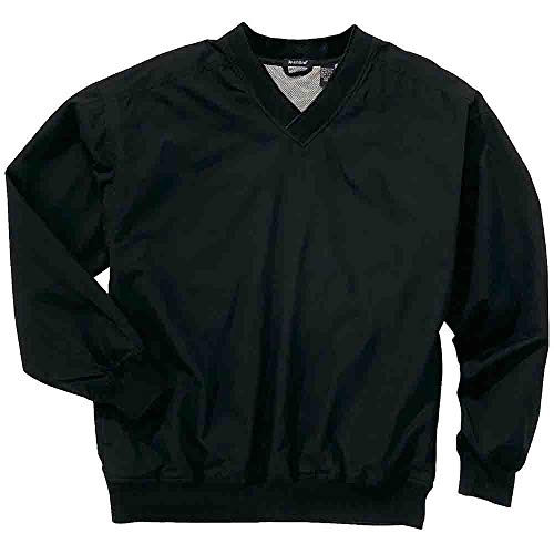 (Rivers' End Mens Lined Microfiber Windshirt Outerwear Black)