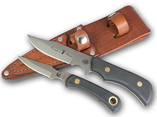 Knives Of Alaska Trekker Series Pronghorn Hunter/Cub Bear Combo - Black SureGrip