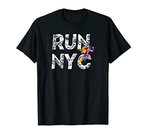 NYC Running man, New York Runner Shirt, Run ()