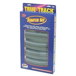 (Atlas HO Scale True-Track Starter Set)