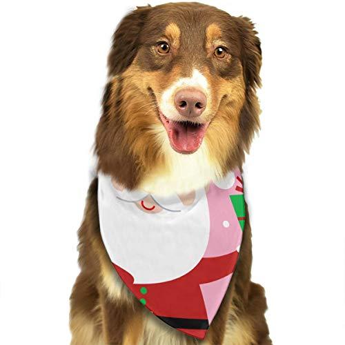 (Gupmaster Christmas Santa Clipart Dogs Triangle Bibs Pets Cats Scarfs)
