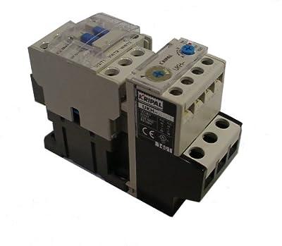 Kripal/yagi Motor Starter UKS1-012, 7-10 Amps, 480v 3Pole, 208V Coil, 5HP