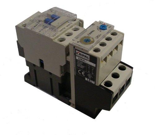 Amp 240v Coil (Kripal/yagi Motor Starter UKS1-012, 7-10 Amps, 480v 3Pole, 240V Coil, 5HP)