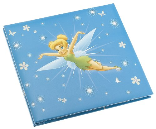 Trends International Sandylion 8-Inch by 8-Inch Disney Princess Embossed Postbound Album, Tinkerbell