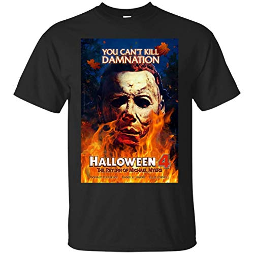 Tee CafeBizz Halloween 4 The Return of Michael Myers -